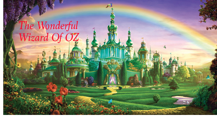 The world of The Wonderful Wizard of Oz and the Ozian cannon